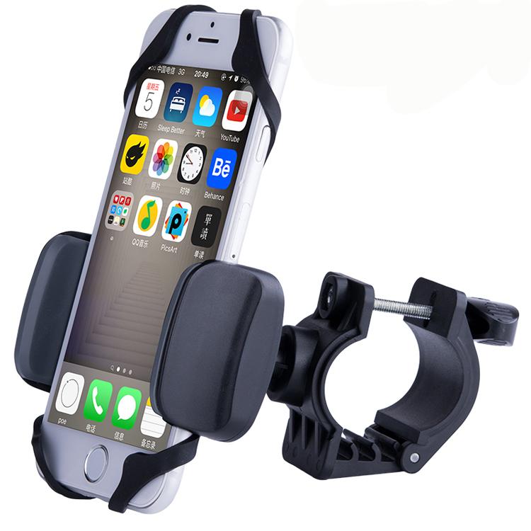 universal fahrrad handyhalter gps halterung smartphone. Black Bedroom Furniture Sets. Home Design Ideas